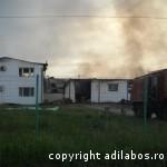 incendiu fabrica de ciocolata Beius 6
