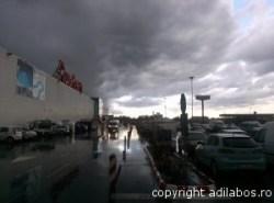 Nori în timpul furtunii