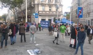 fete pe strada drepturile omului Viena (2)