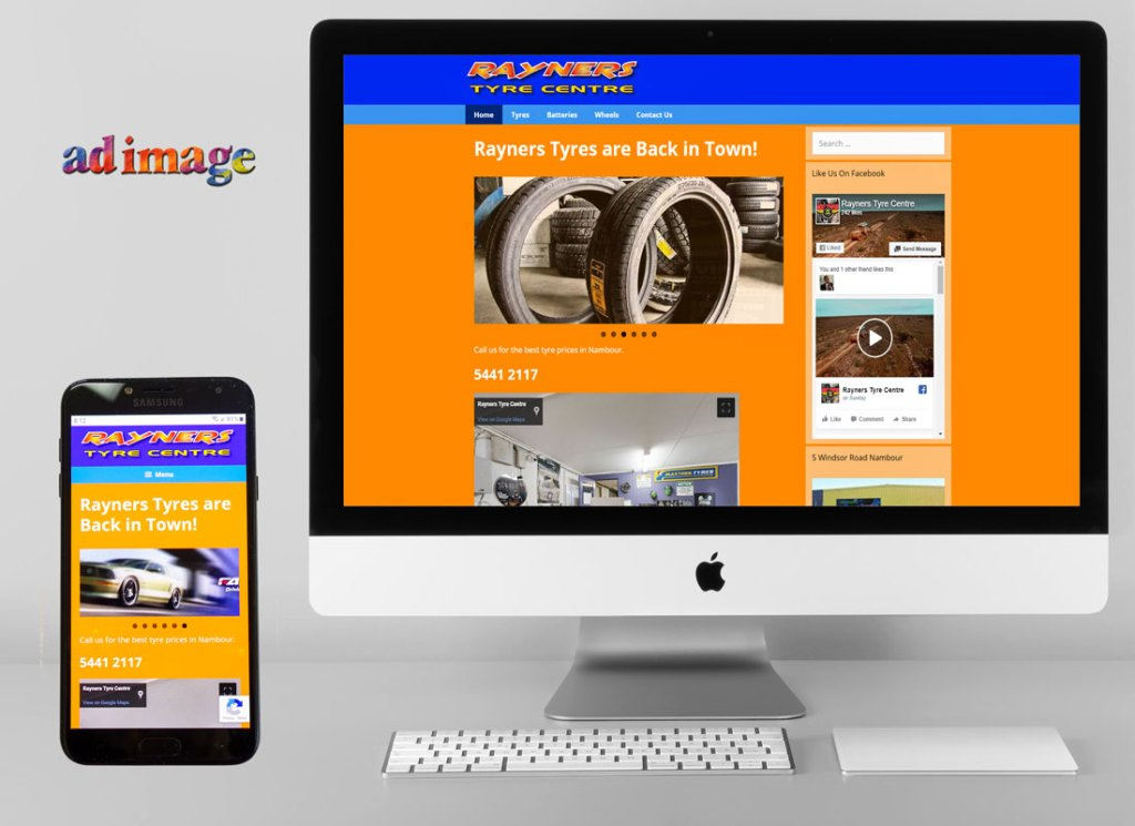 Retail Tyre store website