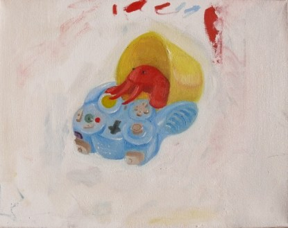John Tran, Full Color Assignment, Intro to Painting, MassArt, 2011