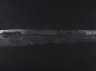 "Horizon (Right), graphite on paper, 22"" x 30"", 2012"