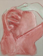 P. De La Cruz, Anatomical Detail, Drawing Fundamentals, MassArt Summer Intensives, 2013