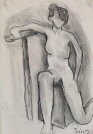 P. De La Cruz, Quick Figure Drawing, Drawing Fundamentals, MassArt Summer Intensives, 2013