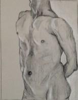J. Schneider, Figure Composition, Drawing Fundamentals, MassArt Summer Intensives, 2013