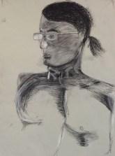 L. Sehringer, Head Drawing, Drawing Fundamentals, MassArt Summer Intensives, 2013