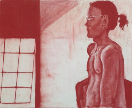 L. Ancona, Head Drawing, Drawing Fundamentals, MassArt Summer Intensives, 2013