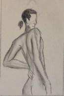 S. Moquete, Quick Figure Drawing, Drawing Fundamentals, MassArt Summer Intensives, 2013