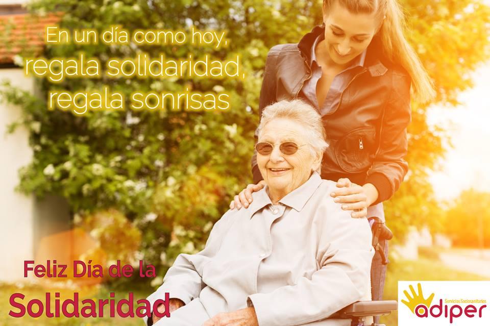 Día Internacional de la Solidaridad. El cuidador y la Solidaridad