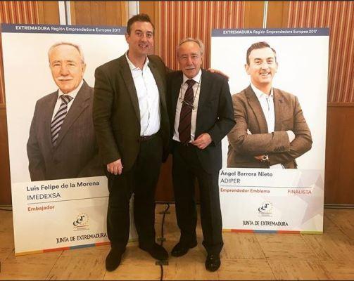Ángel Barrera finalista emrpendedores Extremadura