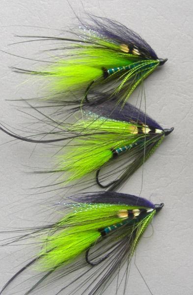 Blue Light Saber Spey Atlantic Salmon Spey Fly