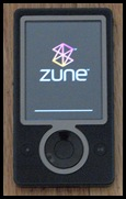 My Actual Dead Zune, Photo Taken for this post
