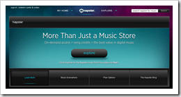 Napster Music Site