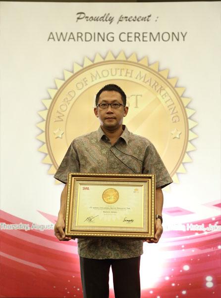 Adira Finance Raih 1st Winner di Ajang Word Of Mouth Marketing Award 2013