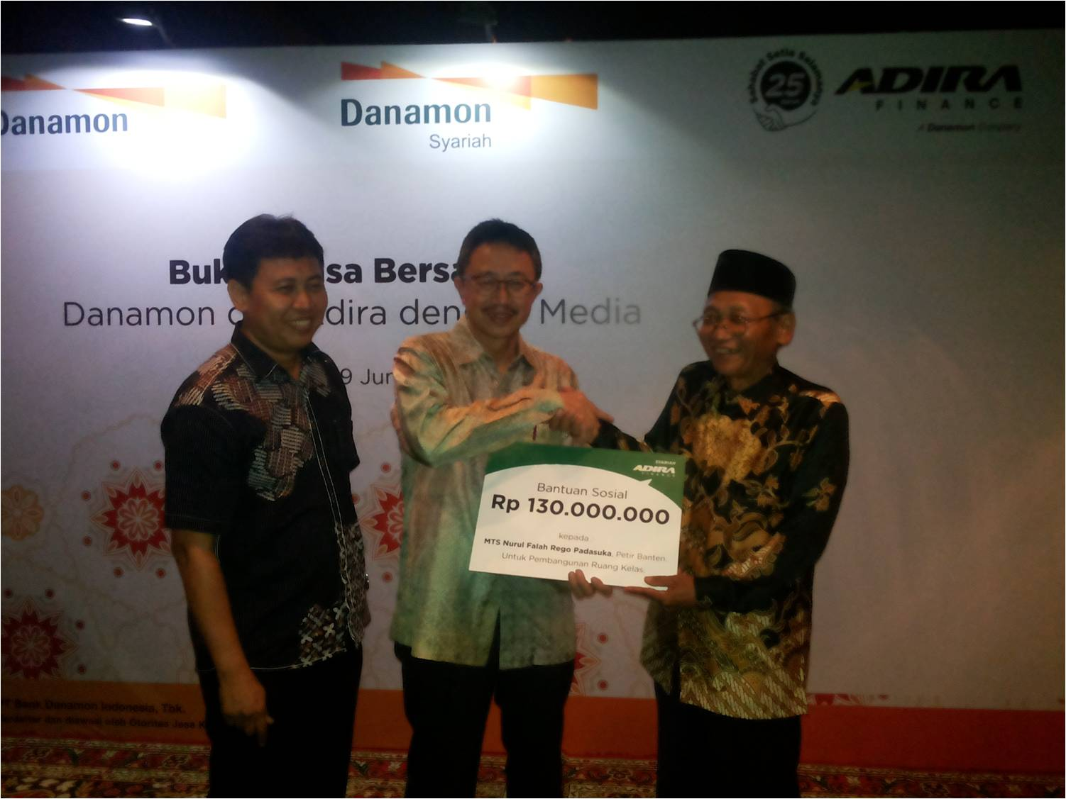 Danamon Syariah, Adira Finance, and Adira Insurance Held Iftar with Media