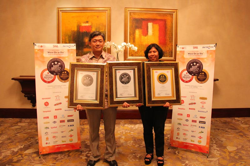 The Indonesia Best Brand Award (IBBA) 2016