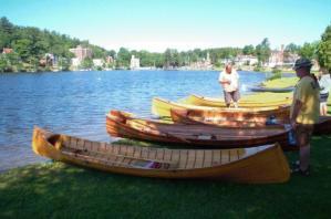 Hanmer Guide Boat Race on Lake Flower (2011)