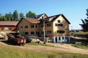 Base lodge expansion at Titus Mountain