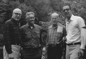 Arthur-Savage-far-right-with-l-r-Wayne-Byrne-Paul-Schaefer-Paul-Jamieson-c.-1974-736x1024