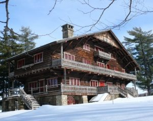 Great Camp Sagamore in Winter