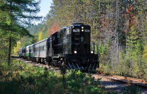 Adirondack Tourist Train (Susan Bibeau)