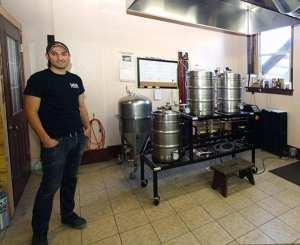 Xavier Cordova, BarkEater's brewmaster.