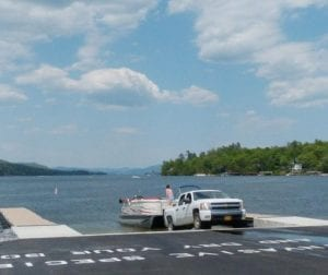 Lake George Boat Launch photo by Ed Burke