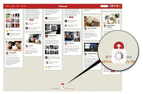 Contoh terapan infinite scroll pada web Pinboard