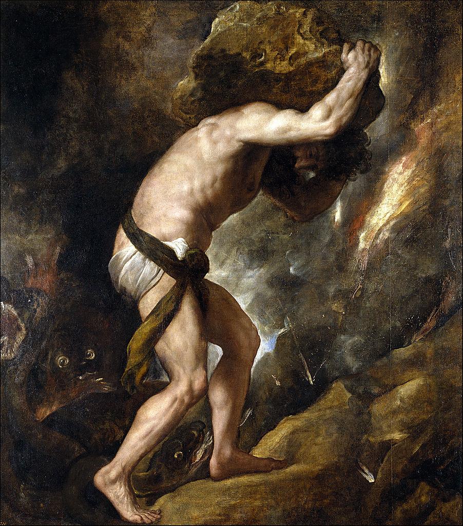 Punishment of Sisyphus