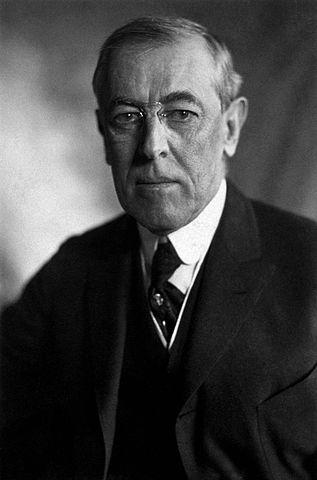 Thomas Woodrow Wilson, 28th President of the United States (1913-1921)