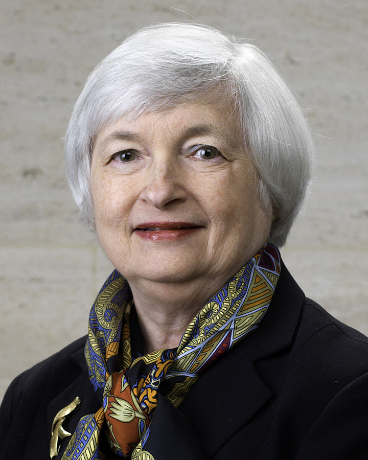 Janet Yellen, Chairman of the U.S. Federal Reserve System