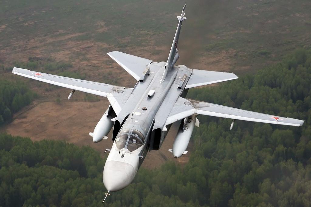 Russian Sukhoi Su-24M