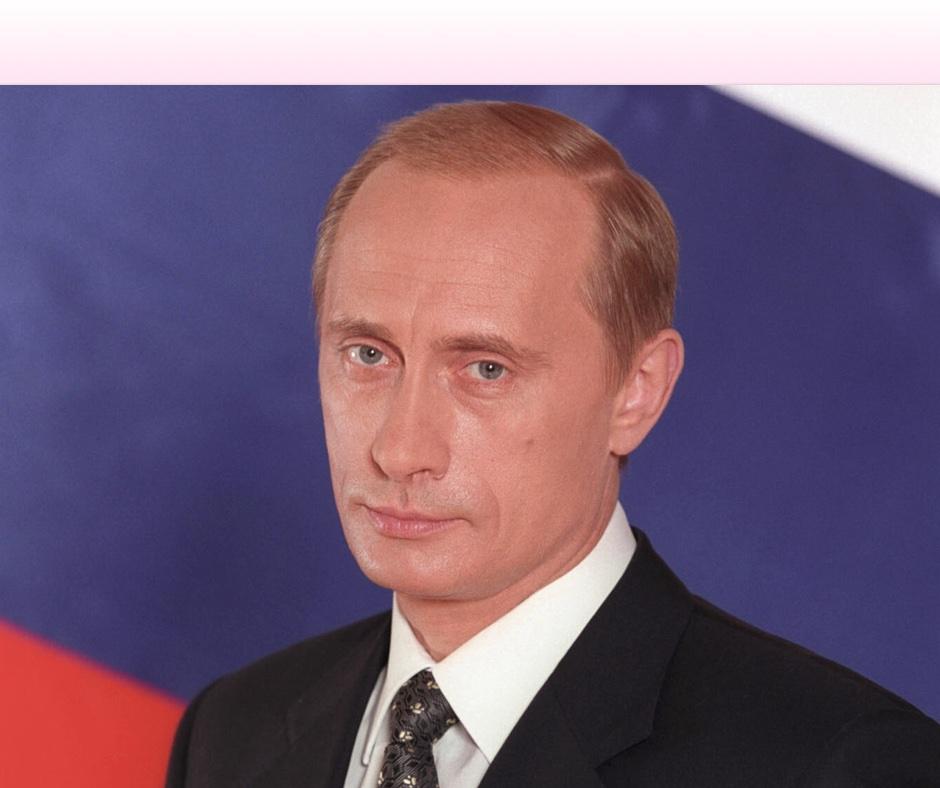 Der Russisch Führer, Vladimir Putin