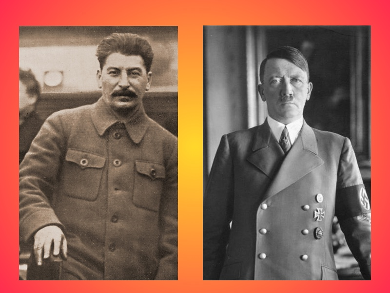 Josef Stalin and Adolf Hitler: One dictator of the Left and one of the Right?