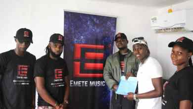 Photo of Nigerian Afro-Pop recording artist, singer and songwriter,Fidelix Rex Ikeabbahalso known asMiliBoyhas just signed a juicy record deal with Emete Music Management