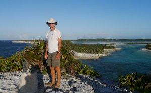 Steve at Cape Santa Maria