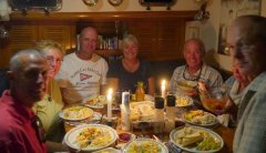 Mahi Mahi dinner with friends