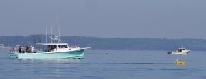 Dodging recreational fishermen in the Chesapeake!