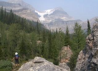 Steve admiring the glacier