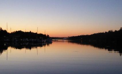 Peaceful pre-dawn, Big Tub