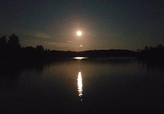 Full moon near Hotham