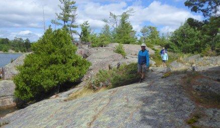 Hike on the rocks