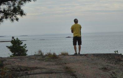 Steve looking south!