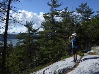 Steve on the ridge