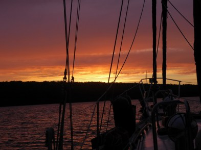 Sunset in Milford Haven