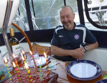 Paul's birthday cake