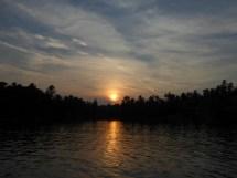 Sunset, Thomas Bay
