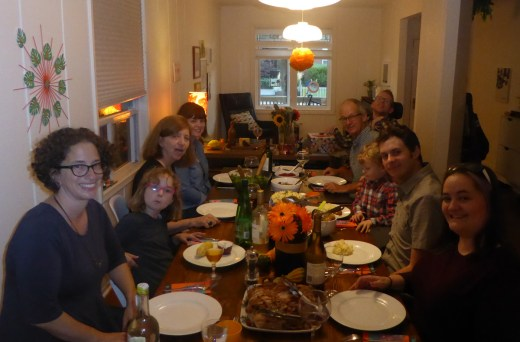Thanksgiving dinner with the fam
