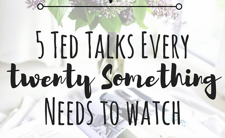 5 Ted Talks Every Twenty-Something Needs to Watch | A2A