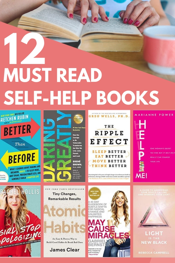 12 Must Read Self Help Books That Will Make You a Better Person